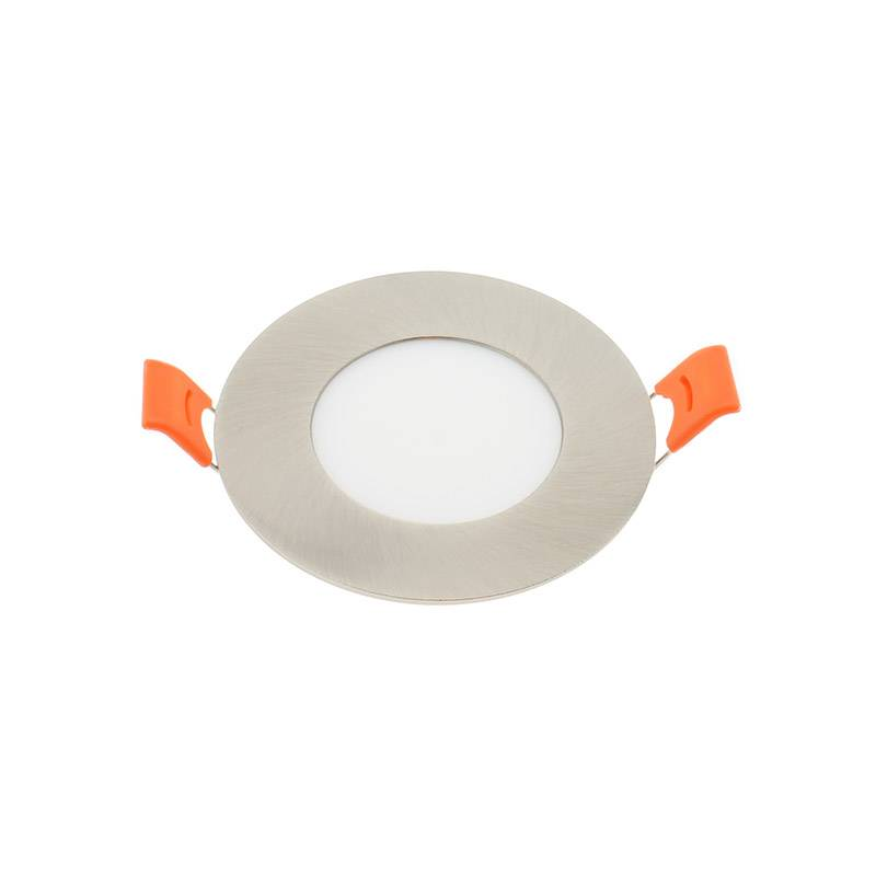 Downlight Led KRAMFOR 5W Silver Slim, Blanco neutro